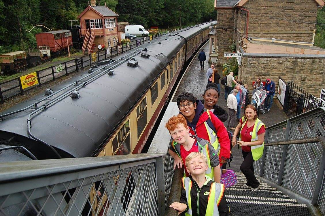 Severn Valley Group Shot